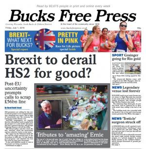 Bucks Free Press: BFP OUT NOW: In this week's edition we look at a post-Brexit Bucks, mourn the loss of a village legend and celebrate Race For Life in all its bright pink glory. In stores now at only 90p